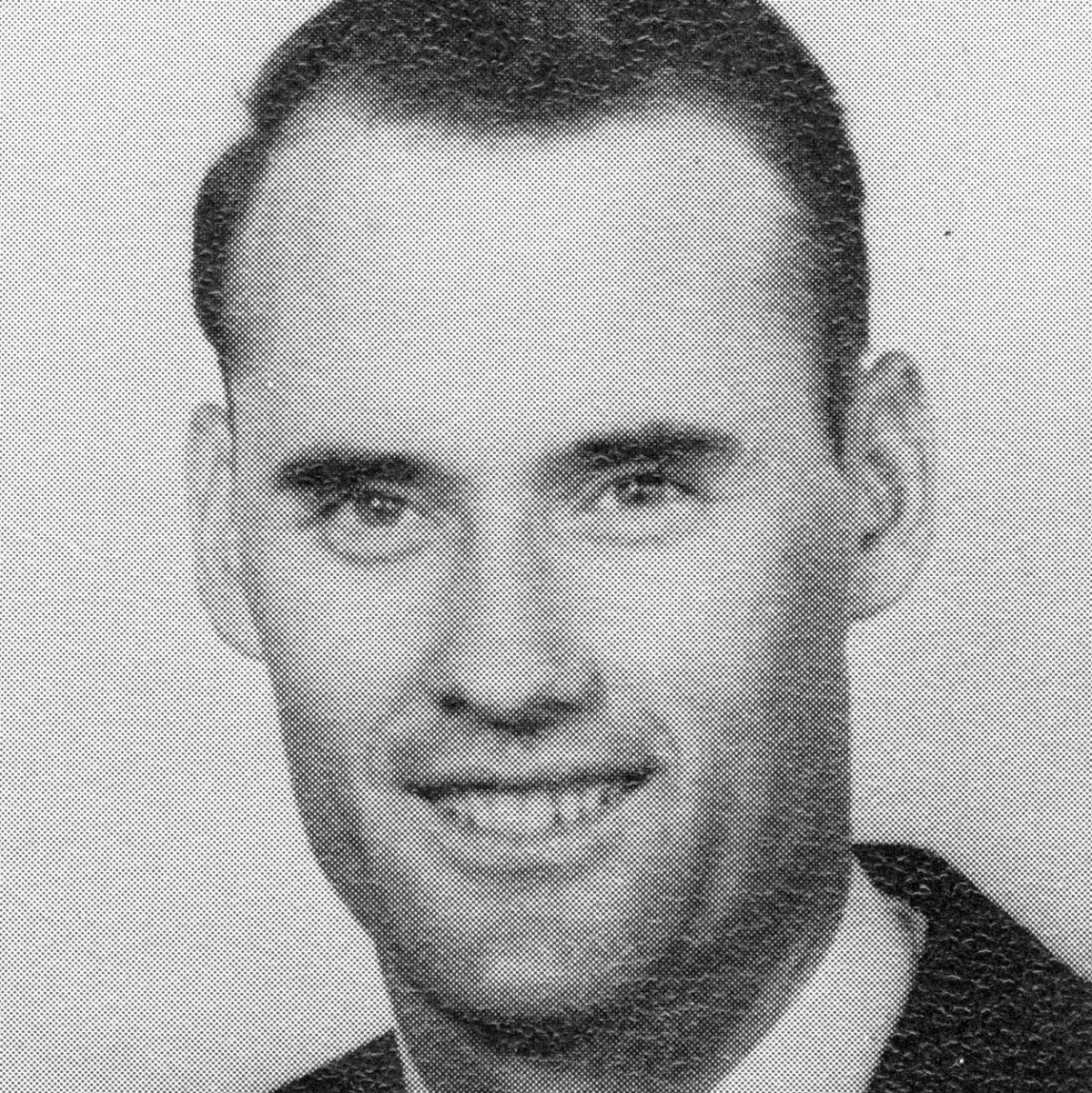 Black and white headshot of a young Dr. Jack Zorn