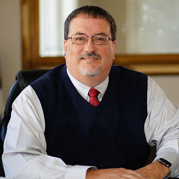 Dean of the College of Arts & Sciences Jeff Arrington