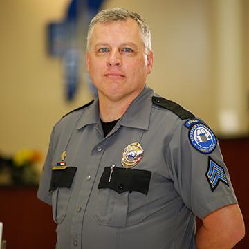 Kenneth Plemons, Police Sergeant, Birmingham campus