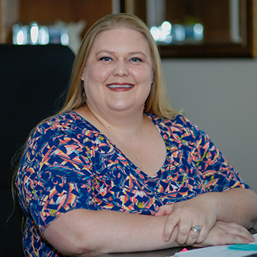 Department Secretary Rachel Bulger