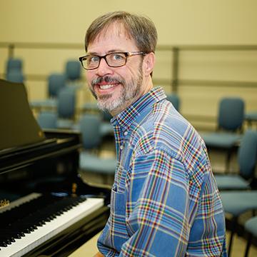 Choral Activities Director Allen Clements