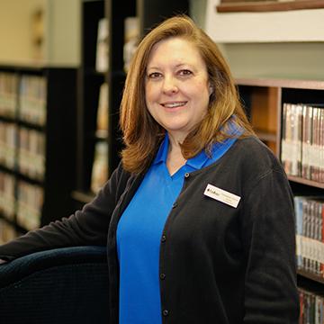 Veronica Davis, Serials Technician, Nichols Library