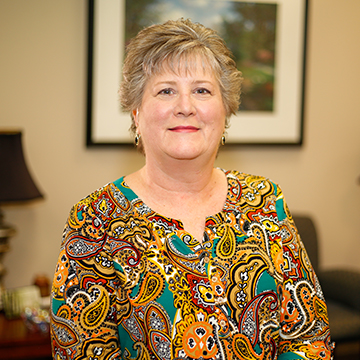 Academic Secretary Vicki Jeter