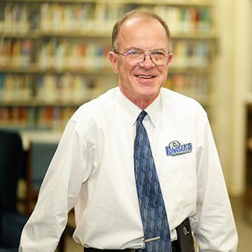 Jim Womack, Professor; Collection Services Librarian