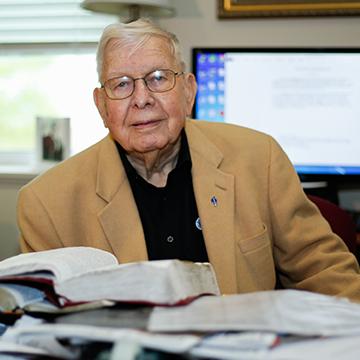 Dean Emeritus Cecil May