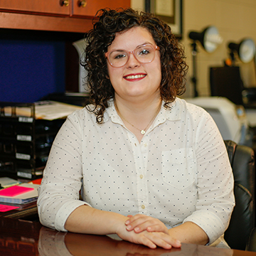 Sydney Stewart, Student Life Office Manager