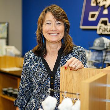 Nancy Wiginton, Manager, Spirit Store