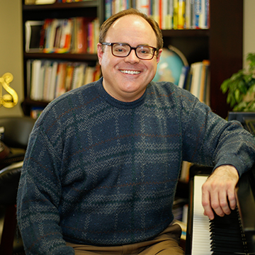 Art Williams, Chair, Department of Fine Arts; Assistant Professor of Music
