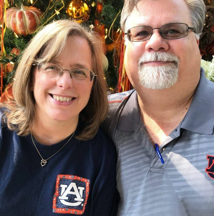 Ramona and Mark Martin married after they graduated from Faulkner University. They are coming back to campus on Nov. 3, 2018 to recreate their first date.