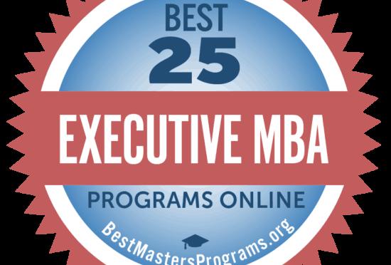 Best 25 Executive MBA Programs Online BestMastersPrograms.org badge