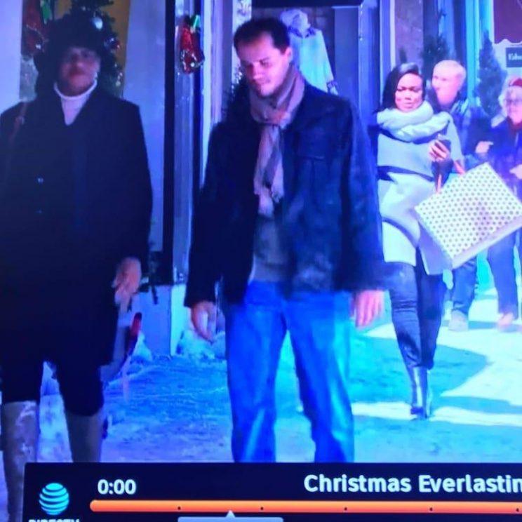 Aaron Reynolds appears in the new Hallmark movie, Christmas Everlasting.