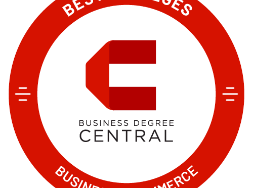 Business Degree Central Best General Business/Commerce Bachelor's Degree badge