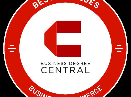 Business Degree Central Best General Business/Commerce Bachelor's Degree badge