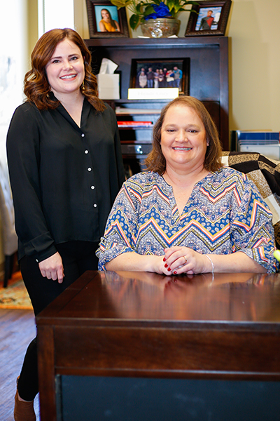 Nichole Fussell, Director of Disability Services and Heidi Guy, Disability Services Coordinator