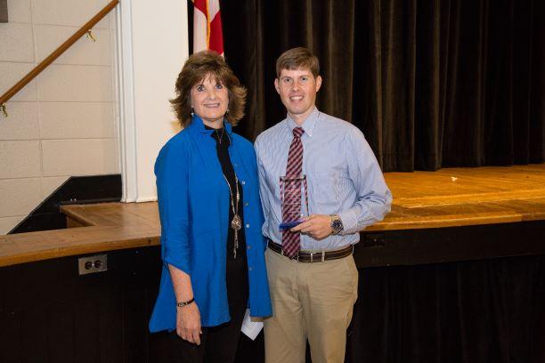 Paul Sullivan stands with Sharon Paulk.