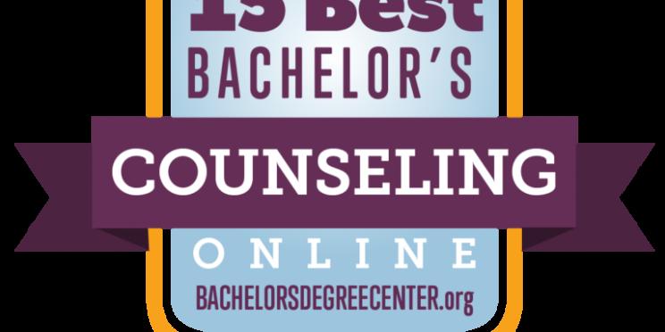 15 Best Bachelor's Online Degree Denter Counseling badge