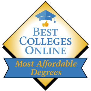 Award for Best Colleges Online Best Affordable Degrees