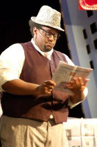 Tony Davison plays in Guys and Dolls at the Faulkner Dinner Theater.