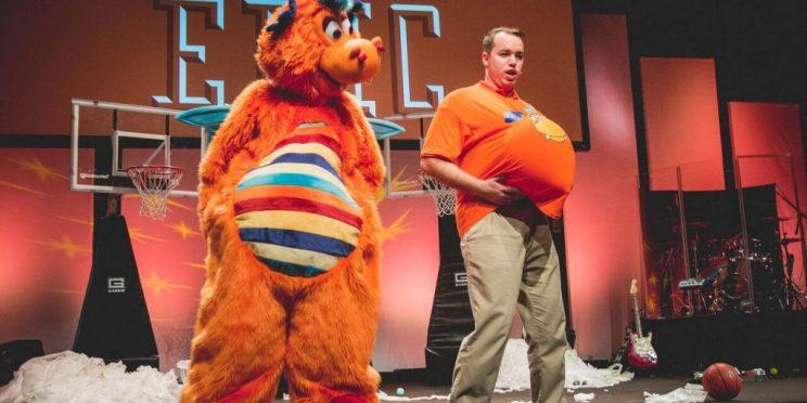 Daniel Monplaisir during an EPIC Entertainment performance.