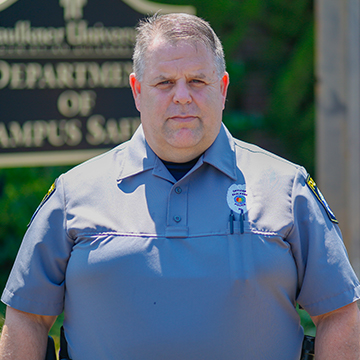 Officer David Fowler will serve as Faulkner's chief of police.