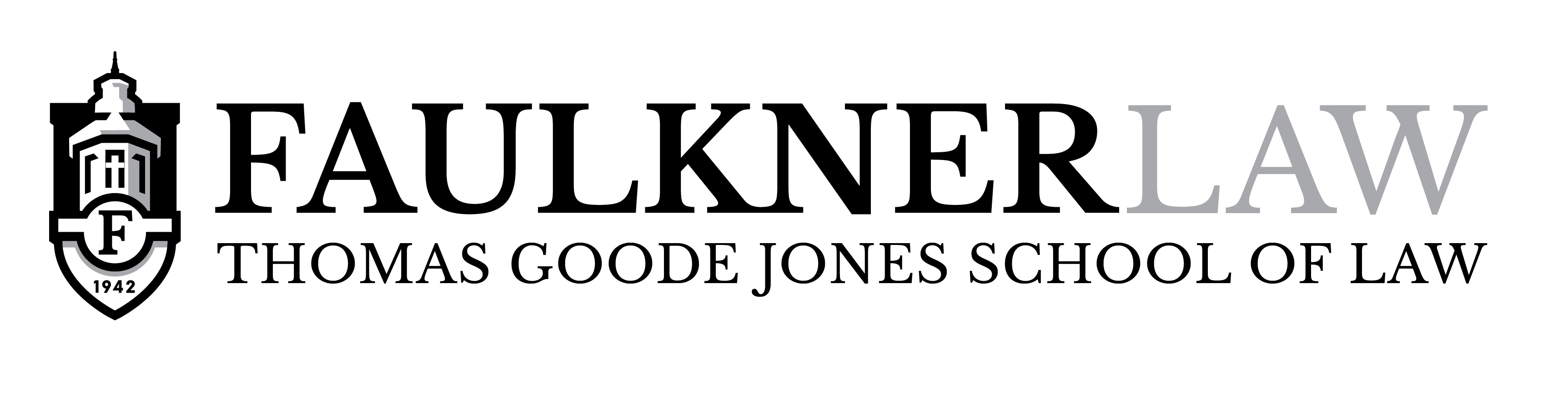Law Logo Horizontal Black