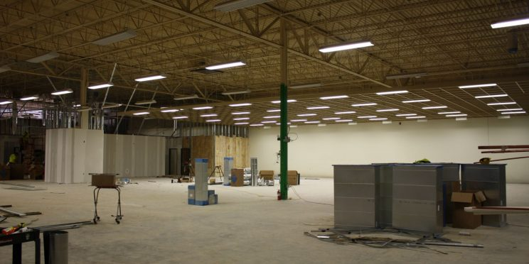 Renovations are underway for the College of Health Sciences therapy gym.