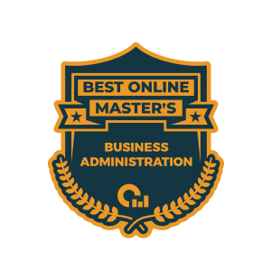 Best Online Master's Badge for Business Administration