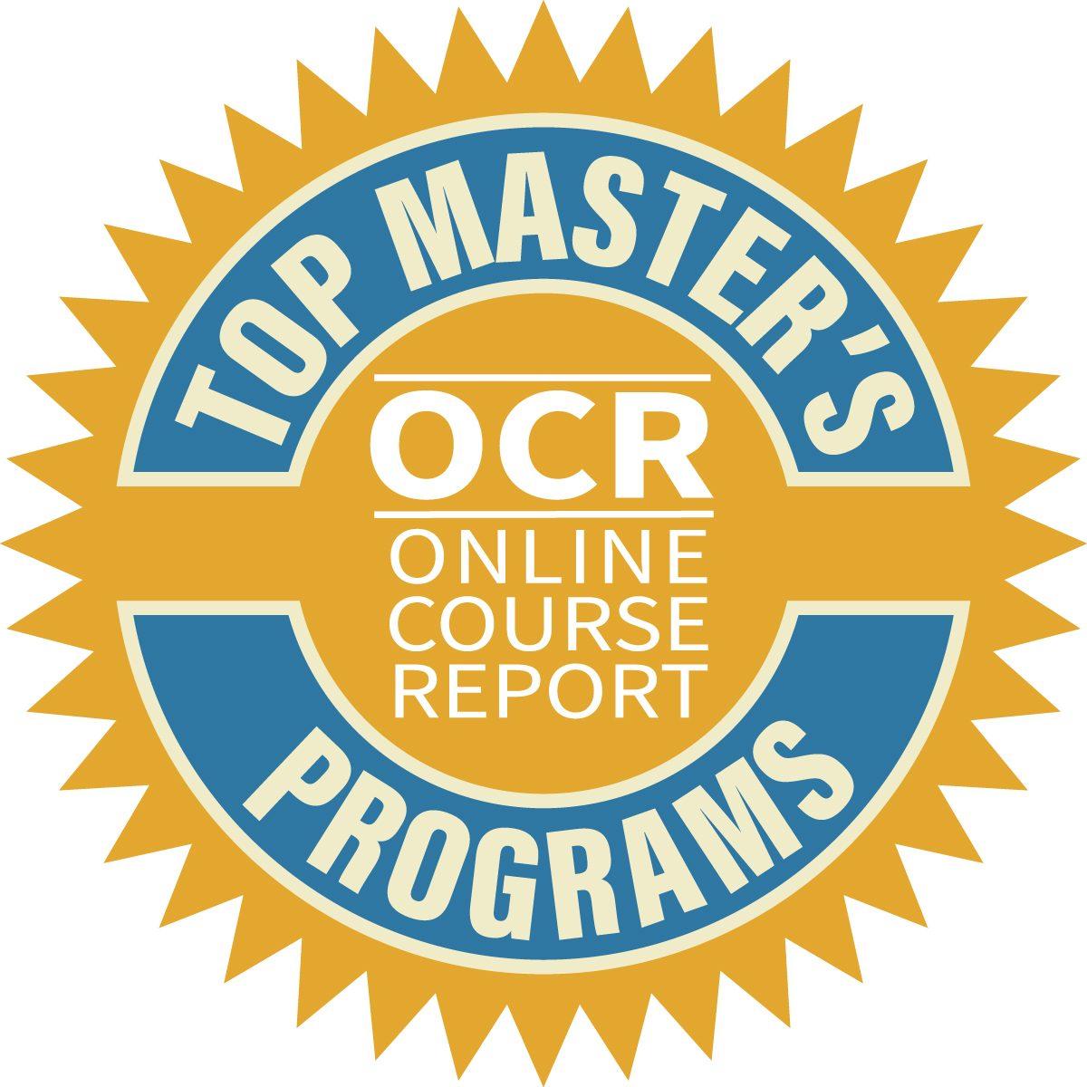 Online Course Report's Top Master's Programs