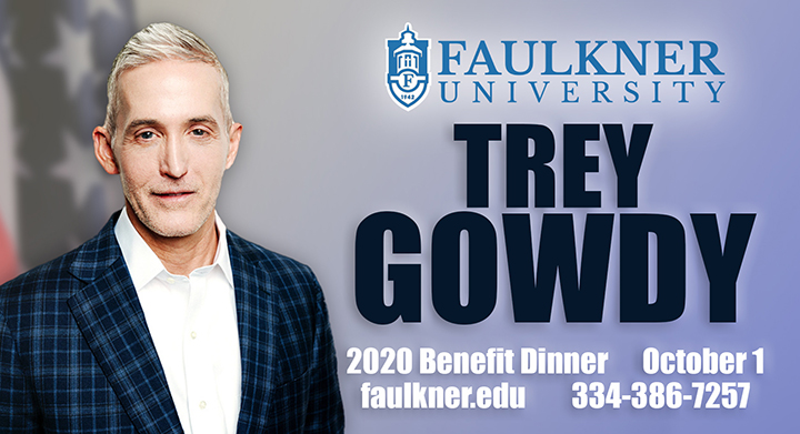Advertisement for Trey Gowdy Event