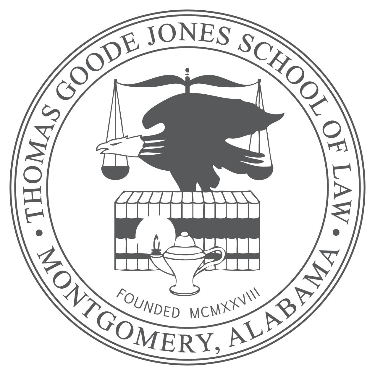 Law Logo Seal Gray