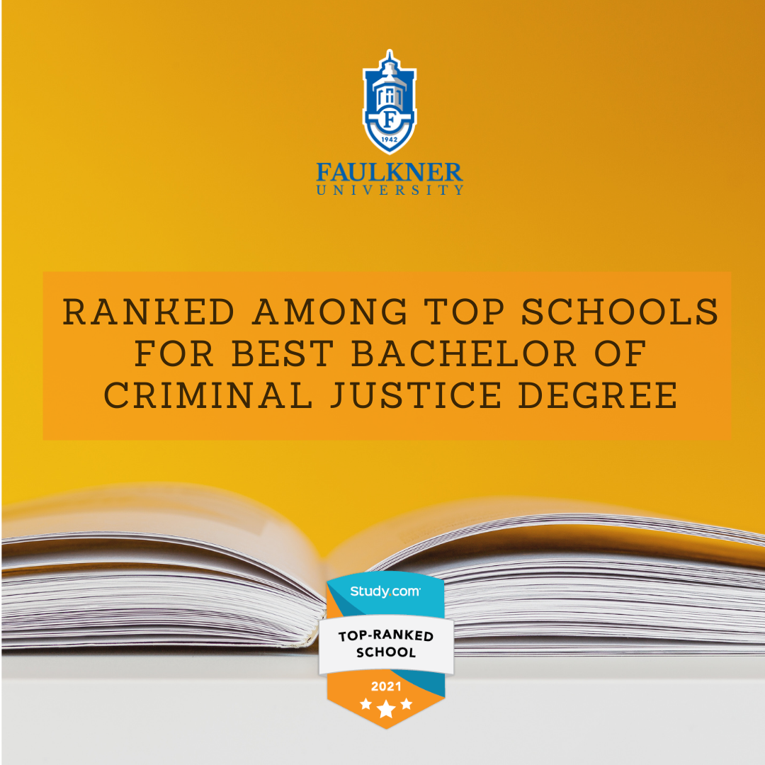Study.com Top-Ranked School badge for top Criminal Justice degree ranking.